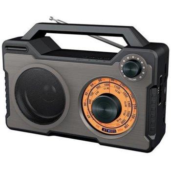 Радио DIVA RB-BT7500, FM/SW/MW, черно image