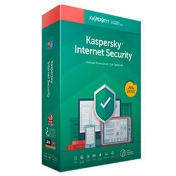 Софтуер Kaspersky Internet Security Eastern Europe Edition Renewal Box, лиценз за 1 година, 3 потребителя, Windows/macOS/Android/iOS image