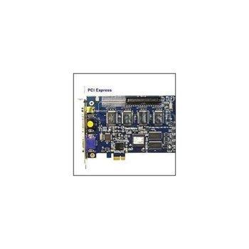 DVR платка GeoVision GV-1240X, 8 видео/8 аудио входа, 400/200fps, MPEG4/H.264  image