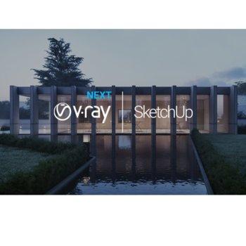 Софтуер Chasogroup V-Ray Next за SketchUp Workstation, 1 потребител, Annual License image