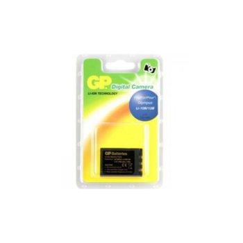 Батерия GP за апарат OLYMPUS LI10B, Camedia C5000Z, iU10, X1, X2, Mju 300, Mju 400, Sanyo DSC-J1, DSC-MZ3, VPC-AZ3EX, VPC-J1EX Xacti, VPC-J2EX, VPC-MZ3EX, LiIon 3.7V, 1100mAh  image