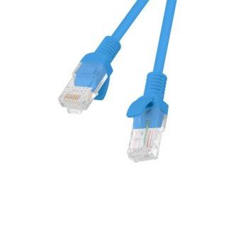 Пач кабел Lanberg , UTP, Cat5e, 1m, син image