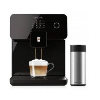 Кафеавтомат Cecotec Power Matic-ccino 8000 Touch Serie Nera, 1400W, 19 bar, капацитет на резервоара за вода 1.7л., AllCappuccino система, система Custom4You, Plug & Play, Thermoblock, черна image