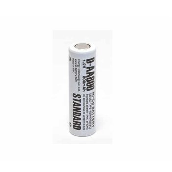 Акумулаторна батерия Energy Technology AA800 D, AA, 1.2V, 800mAh, Ni-Cd, 1 бр. image