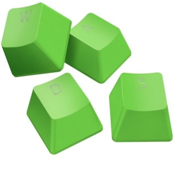 Капачки за механична клавиатура Razer PBT Keycap Upgrade Set (RC21-01490400-R3M1), за ANSI/104 и ISO/105 клавиатури, зелени image