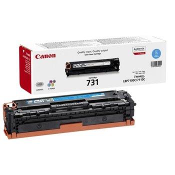 Касета за Canon i-Sensys LBP7100C/LBP7110C - Cyan - CRG-731C - P№ 6271B002 - Заб.: 1500 к. image
