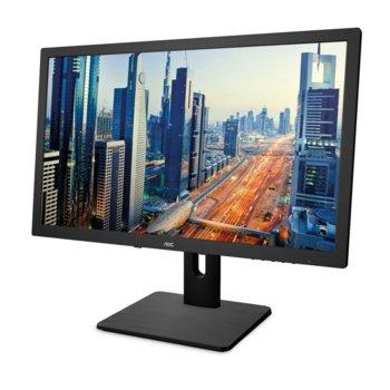 """Монитор AOC I2275PWQU, 21.5""""(54.60 см) IPS панел, FullHD, 4ms, 50000000:1, 250 cd/m2, HDMI, DVI, DP image"""