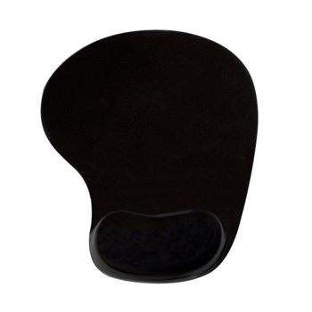 Подложка за мишка Vakoss PD-424, черен, с гел, 190 x 226 mm image