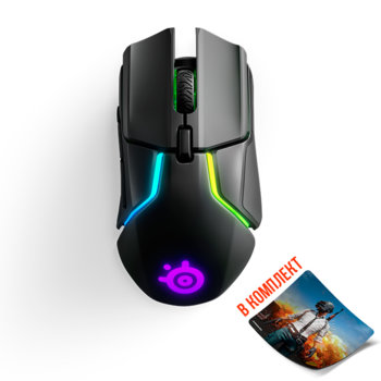 SteelSeries Rival 650 Wireless RGB + QcK+ Limited  product
