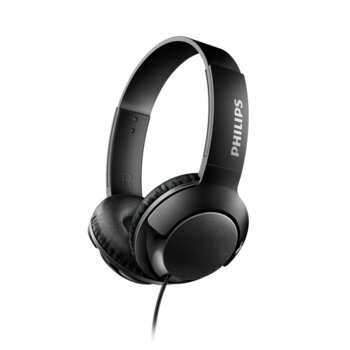 Слушалки Philips SHL3070BK, 3.5 mm жак, черни image