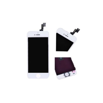 Дисплей за iPhone 5S LCD HQ with touch assembly, бял image