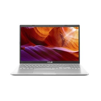 "Лаптоп Asus X509JA-WB501 (90NB0QE1-M02510)(сребрист), четириядрен Ice Lake Intel Core i5-1035G1 1.0/3.6 GHz, 15.6"" (39.62 cm) Full HD Anti-Glare Display, (HDMI), 8GB DDR4, 256GB SSD, 1x USB 3.1 Type-C, No OS image"
