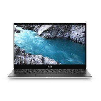 "Лаптоп Dell XPS 7390 (5397184312438)(сребрист), четириядрен Comet Lake Intel Core i7-10510U 1.8/4.9 GHz, 13.3"" (33.78 cm) 4K/UHD Anti-Glare Touchscreen Display, (Thunderbolt 3), 16GB, 512GB SSD, Windows 10 Home image"