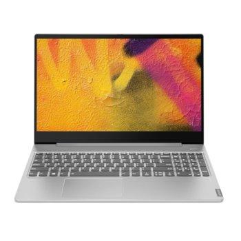 "Лаптоп Lenovo Ideapad S540-15IWL (81NE00B4BM)(сив), четириядрен Whiskey Lake Intel Core i5-8265U 1.6/3.9 GHz, 15.6"" (39.62 cm) Full HD IPS Display & GF MX250 2GB, (HDMI), 8GB DDR4, 512GB SSD, 1x USB 3.1 Type-C, Free DOS  image"