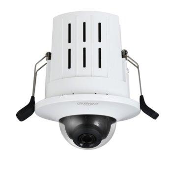IP камера Dahua IPC-HDB4431G-AS-0280B, куполна, 4MP Mpix(2688x1520@25FPS), 2.8 mm обектив, H.265+/H.265/H.264+/H.264, IR осветеност (до 30 метра), външна вандалоустойчива IK08, PoE, RJ-45, Micro SD memory, Built-in Mic image