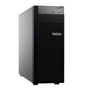 Сървър Lenovo ThinkSystem ST250 (7Y45A049EA), шестядрен Coffee Lake Intel Xeon E-2276G 3.8/4.9 GHz, 16GB UDIMM, без твърд диск, 2x 1GbE, No OS, 1x 550W PSU image