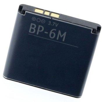 Батерия (заместител) за Nokia 6233 -6M, 1000mAh/3.7V image