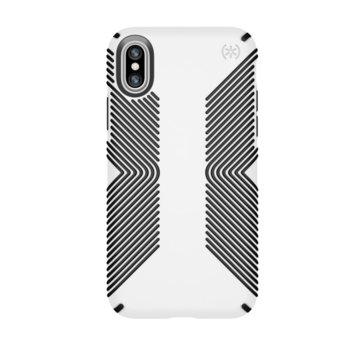 Калъф Speck iPhone X Presidio Grip - White/Black product