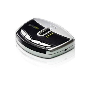 KVM суич ATEN US421A, от 4x USB B(ж) към 1x USB A(ж), 4 суич бутона, 1 устройство image