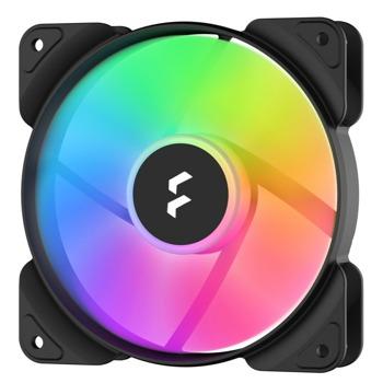 Вентилатор 120mm, Fractal Design Aspect 12 PWM RGB Black (FD-AS1-1205), 4-pin, 2000 rpm image