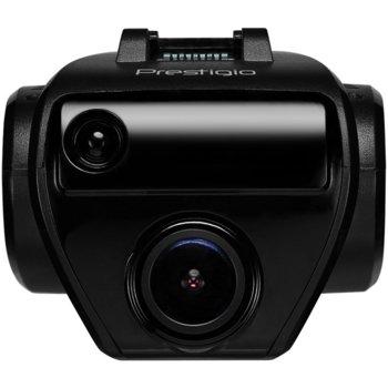 "Видеорегистратор Prestigio PRS500WGPS, камера за автомобил, Full HD 1920x1080/30fps, 1.7"" (4.31 cm), вграден микрофон, вграден детектор за радари, microSD, micro USB image"