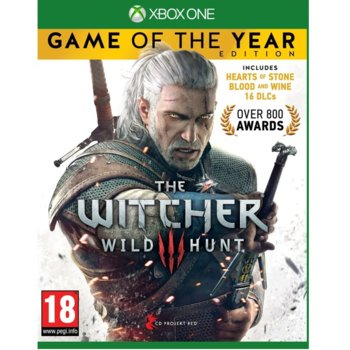 Игра за конзола The Witcher 3: Wild Hunt Game Of The Year Edition, за Xbox One image