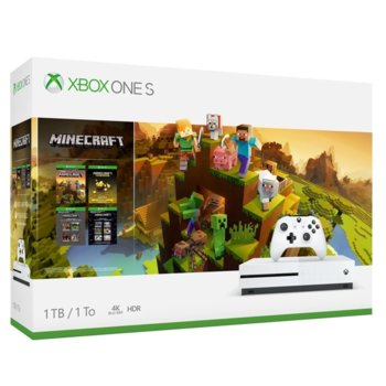 Xbox One S 1TB + Minecraft Creators Bundle product