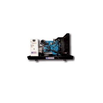 Дизелов генератор KJ POWER KJP 66, трифазен, двигател PERKINS, алтернатор SINCRO, 66kVA/53kW, водно охлаждане, 176л резервоар, беж кожух image