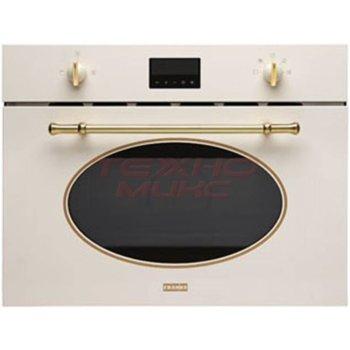 Микровълнова фурна Franke FMW380CLGPW, за вграждане, с грил, електронно управление, 1000W, 38л обем, 6 нива на мощност, бяла image
