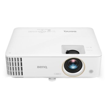 Проектор BenQ TH58P, DLP, 1920 x 1080 (FHD), 10 000 : 1, 3500 lm, HDMI, VGA, Audio in, Audio out, USB, RS232 image