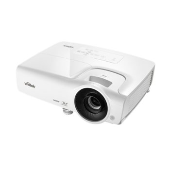 Проектор Vivitek DS262, DLP, 3D Ready, SVGA (800x600), 15000:1, 3500 lm, 2x HDMI, 2x VGA, USB, бял image