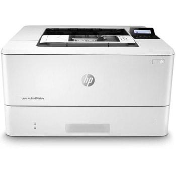 Лазерен принтер HP LaserJet Pro M404dw, монохромен, 4800 x 600 dpi, 38 стр/мин, LAN, Wi-Fi, A4 image