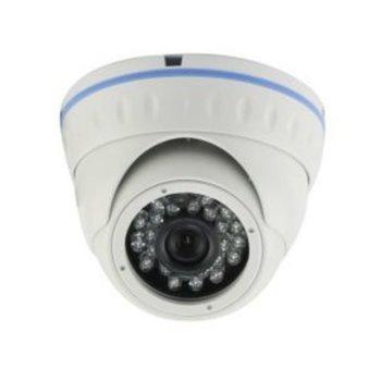 AHD/CVBS камера irLAN DOL-A720F3.6AH25, куполна камера, 720p, 3.6mm обектив, IR осветеност (до 25 m), за външен монтаж image