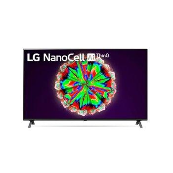 "Телевизор LG 49NANO803NA, 49"" (124.46 cm) 4K/UHD Smart TV, HDR, DVB-T2/C/S2, Wi-Fi, LAN, Bluetooth, 4x HDMI, 2x USB, енергиен клас G image"