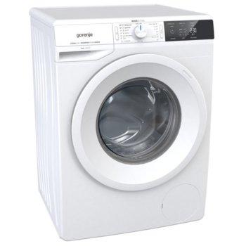 Перална машина Gorenje WEI843, A+++, 8 кг. капацитет, 1400 оборота в минута, 16 програми, свободностояща, 60 cm. ширина, PowerDrive мотор, бял image