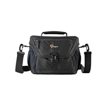 Чанта за фотоапарат Lowepro Nova 180 AW II, За DSLR с 24-105мм, 3-4 обектива и светкавица, черен image