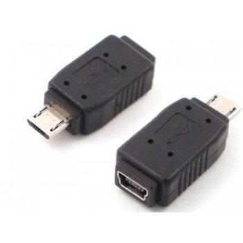 Преходник от USB Micro B(м) към USB Mini B(ж) image