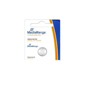 Батерии литиеви MediaRange Coin Cells MRBAT134 CR1220, 3V, 45mAh, 1бр. image