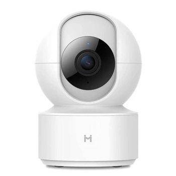 Уеб камера Xiaomi IMILAB Home Security CMSXJ16A, уеб камера, микрофон, 1920x1080, H.265, безжична, Wi-Fi IEEE802.11 b/g/n 2.4GHz, USB, бяла, охранителна/бейби камера image