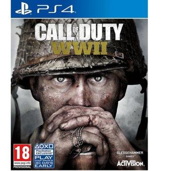 Игра за конзола Call of Duty: WWII, за PS4 image