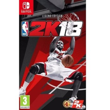 Игра за конзола NBA 2K18 Legend Edition, за Switch image