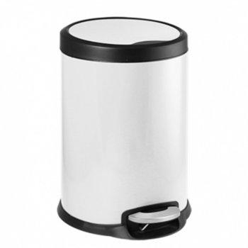 Кошче за отпадъци, 5L, бяло image