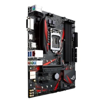 Дънна платка Asus ROG STRIX B250G GAMING, B250, LGA1151, DDR4, PCI-E (HDMI), 6x SATA 6Gb/s, 2x USB 3.1 Gen1, Micro ATX image