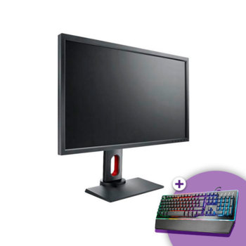 "Монитор ZOWIE XL2731, 27"" (68.58 cm) TN панел, Full HD, 1ms, 320cd/m2, DisplayPort, 1x DVI-DL, 2x HDMI, 3.5mm Audio Jack, FreeSync image"