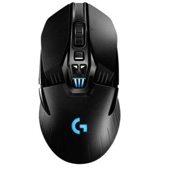 Мишка Logitech G903 Lightspeed, оптична (12 000 dpi), безжична, USB, 9 бутона, геймърска, черна image