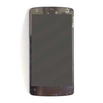 Дисплей за LG Nexus 5, LCD, с тъч, черен image