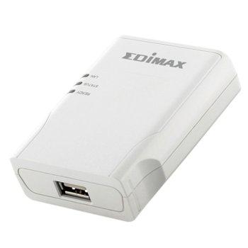 PrintServer Edimax PS-1206MF, 1x 10/100Mbps LAN port, 1х USB image