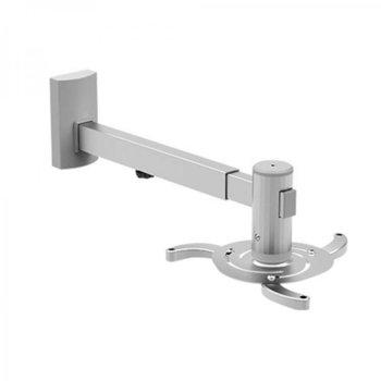 Универсална стойка за проектор SBOX PM-105, за стена, дължина на рамото 475-655mm, макс. тегло 10кг image