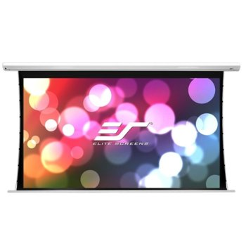 "Екран Elite Screens Saker SK135NXW-E6, за стена, White, 2907 x 1817 мм, 135"" (342.9 cm), 16:10 image"