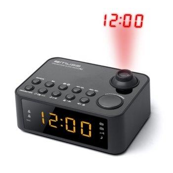 Радиочасовник Muse M-178 P, LED дисплей, FM/MW, 2x 1.5V батерия AAA, черно image